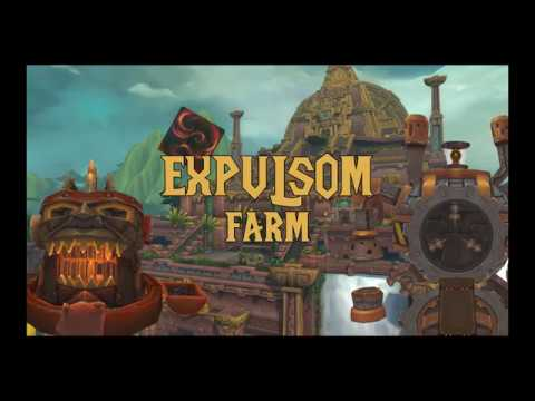 GOLD Easy expulsom farm - YouTube