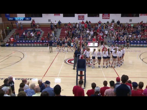 Dixie State Volleyball vs. California Baptist - 9/16/17