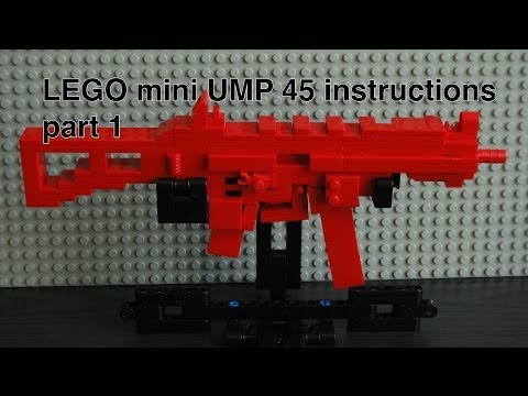 How To Make A Lego G36c