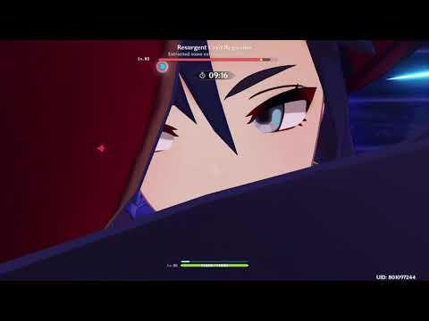 [Genshin Impact] Frostborn Miracle Challenge: Resurgent Cryo Regisvine - Solo No Damage - AR 49