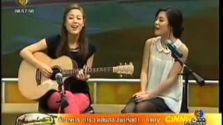 Jayesslee cover THAI song[CUT] (เบา เบา) bao-bao Singular @morningnewsCH3 @jayessleefc