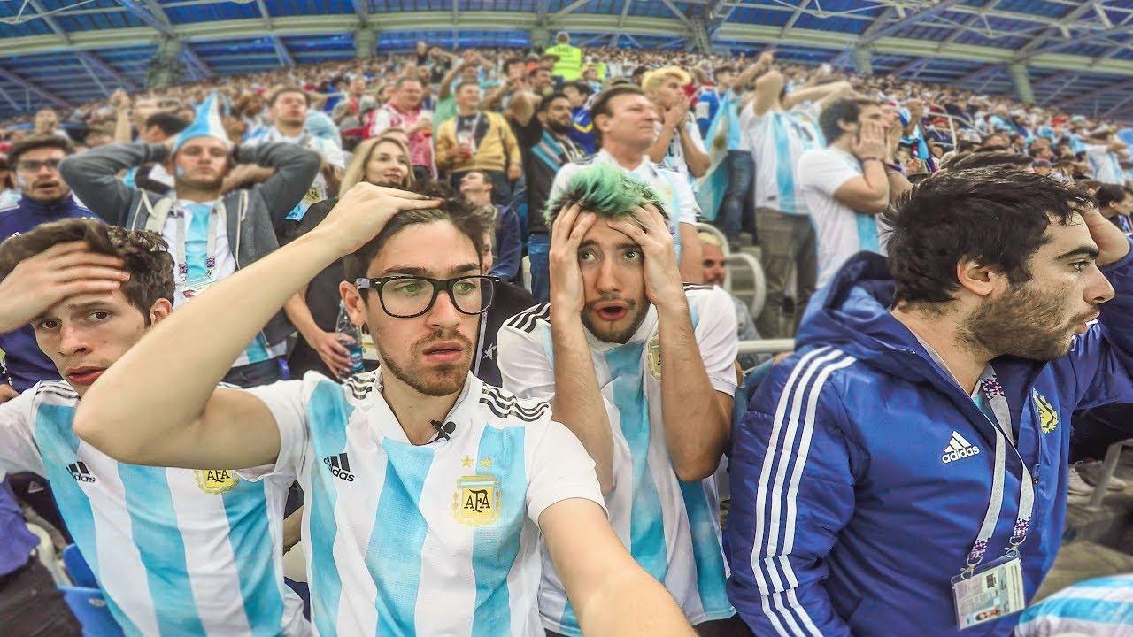 Argentina 0 Croacia 3 | 2018 Mundial | Reacciones de Amigos