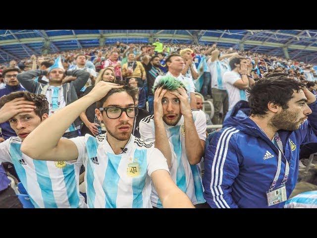 Argentina 0 Croacia 3   2018 Mundial   Reacciones de Amigos