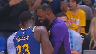 LeBron James Tries To Join The Warriors After Lonzo Ball Misses His Shots (Parody)