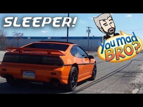 Supercharged + Nitrous Fiero Trolls Everything in the Streets - SLEEPER