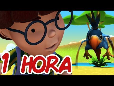 Alex - Dibujos Educativos Infantiles - 1 HORA -  Video Para Niños