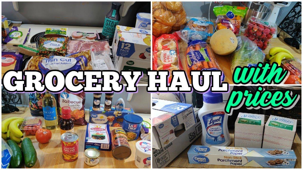 $100 Walmart Grocery Haul & Meal Plan