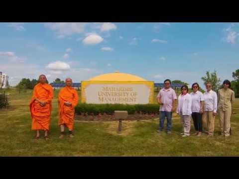 MMI visits Maharishi University Fairfield, Iowa, USA