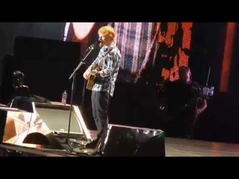 Ed Sheeran- The A Team at Wembley 10.07.15