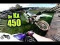 ACELERANDO de JOG e Kx 450f   Salão Duas Rodas