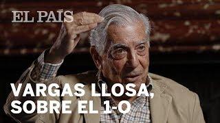 """Vargas Llosa: """"Espero que el Gobierno tenga la energía suficiente para impedir un golpe de Est..."""