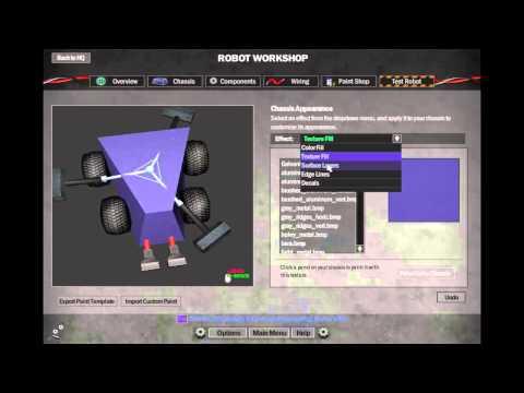 Robot arena 2-בונים רובוט