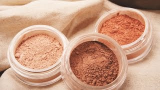 DIY Make Natural Loose Face powder makeup for girls/Como hacer Polvos Sueltos Natural para niñas Thumbnail