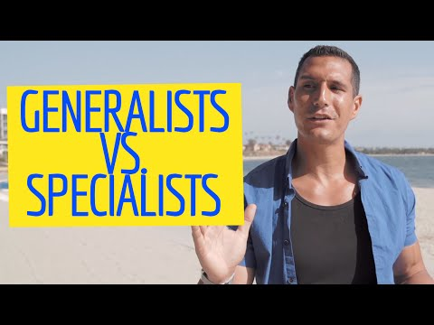 Are Generalists Better Than Specialists?
