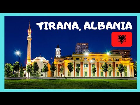 TIRANA, inside the ancient ET'HEM BEY MOSQUE, ALBANIA