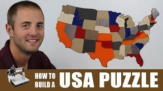 USA Puzzle | CNC Project