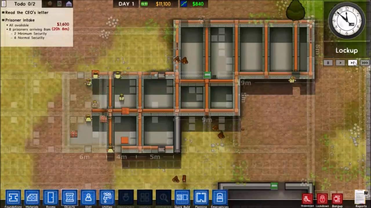 Blueprints [Prison Architect Ep. 1]