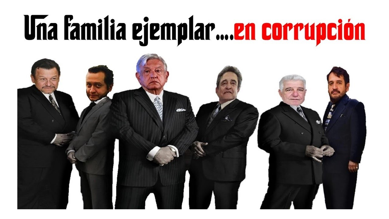 Una familia ejemplar… en corrupción