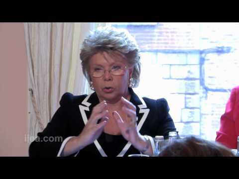 Viviane Reding on Weathering the Storm Together: Justice for Growth, Justice for Citizens
