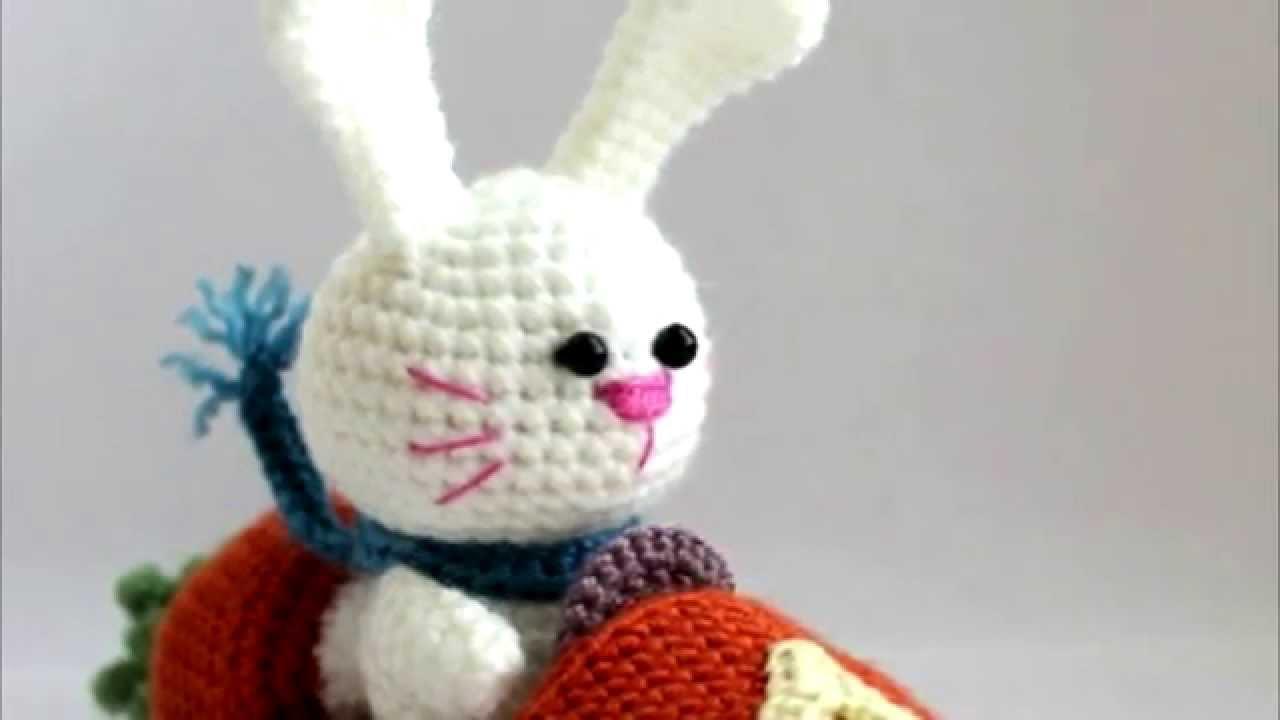 Схема вязания амигуруми крючком зайца
