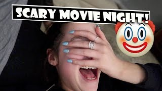 Scary Movie Night 🤡 (WK 375.5) | Bratayley