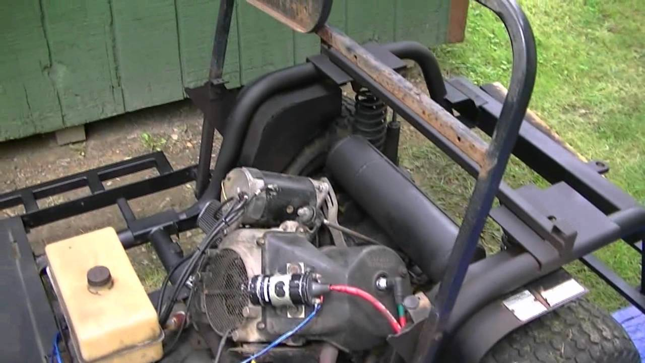 1991 Columbia ParCar Golf Cart (Restore part 1) - YouTube