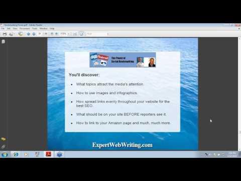 Social Bookmarking Webinar - Social Bookmarking Power