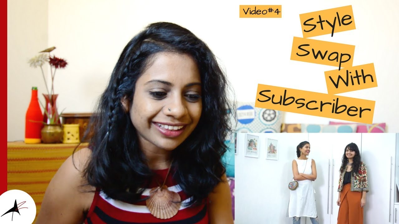 Sejal Kumar STYLE SWAP With My Subscriber Reaction Video#4 | Arpitharai