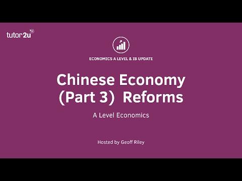 Chinese Economy (Part 3) Economic Reforms