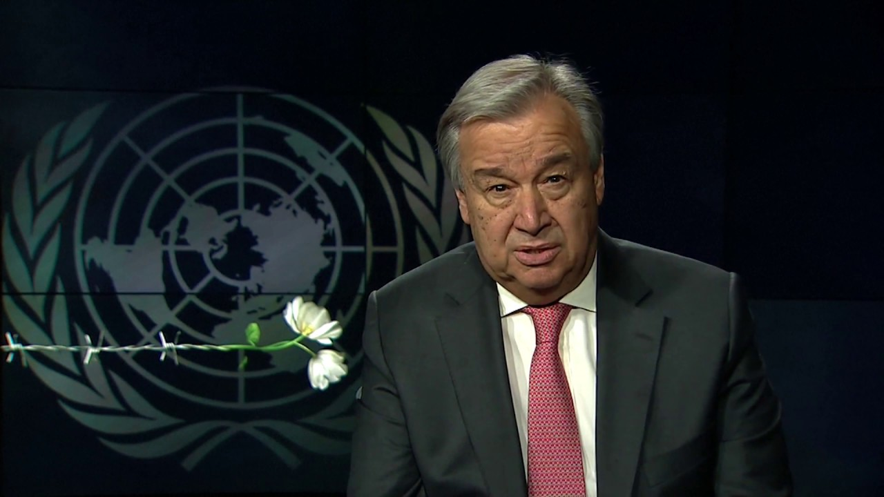 Commemoration in Memory of the Victims of the Holocaust - Video message from the Secretary-General