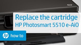 Replacing a Cartridge - HP Photosmart 5510 e-All-in-One Printer (B111a)(, 2012-06-12T17:00:07.000Z)
