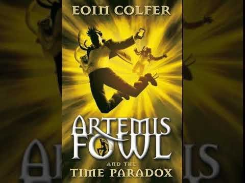 Eoin Colfer Artemis Fowl The Time Paradox Audiobook in English
