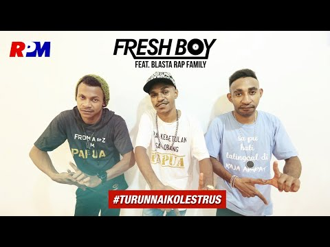 Fresh Boy Ft. Blasta Rap Family - Turun Naik Oles Trus (Official Lyric Video)