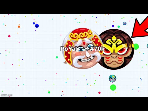 WTF!! FIRST EVER UNCUT SAME SIZED POPSPLIT!! REVERSE POPSPLIT 90-SPLIT!! (Agar.io)
