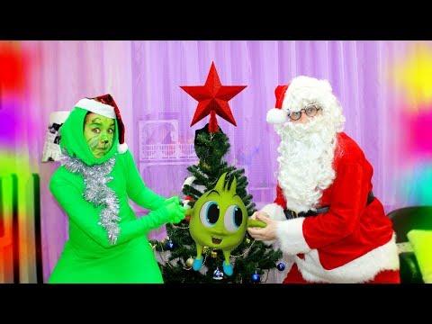 Рома и Гринч НЕ ПОДЕЛИЛИ игрушки и рождество! Кто все ИСПОРТИЛ? Рома и Хелпик