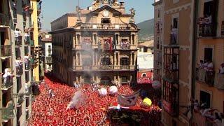 Arrancan las fiestas de San Fermín con el chupinazo