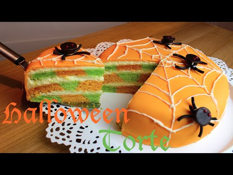 halloween spinnen torte halloween spidercake mit. Black Bedroom Furniture Sets. Home Design Ideas