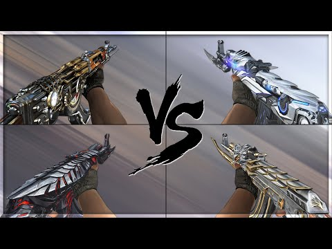 CrossFire 2.0 : AK-47 KNIFE STEEL EMPIRE vs AK-47 VIP's [VVIP AK-47 Comparison]