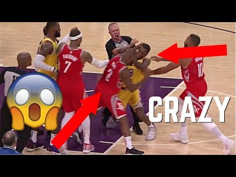 NBA CRAZY Fights *MUST WATCH* ᴴᴰ