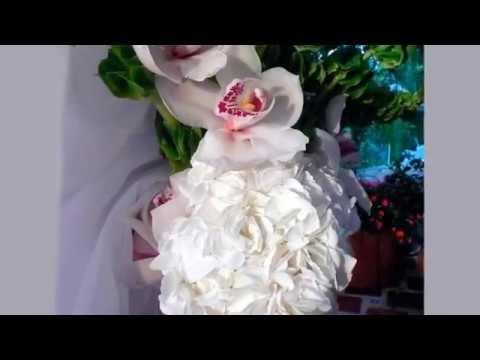 Orchid Wedding Centerpieces Decorations Youtube