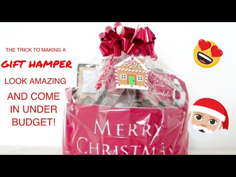 The Trick To Make A Gift Hamper Look Ah-MAZING AND Come In Under Budget This Christmas!