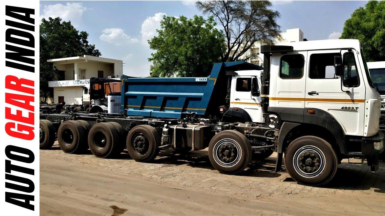 Tata 4923.T | Review | 16 Wheeler | Price,Details | Hindi | Auto Gear India
