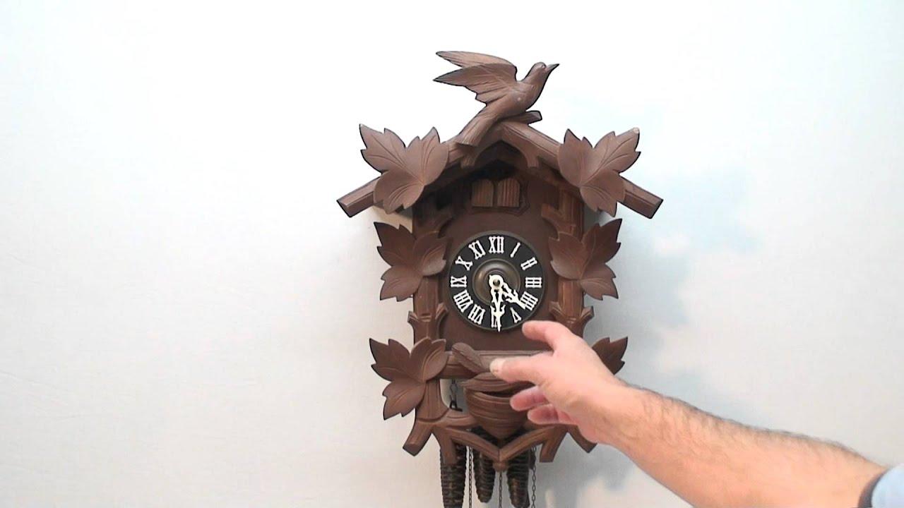 Hubert Herr Cuckoo Quail Clock You