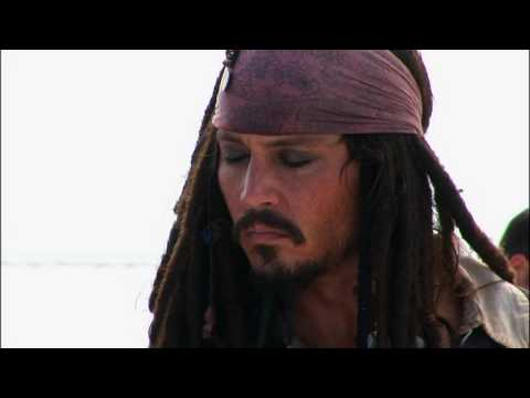 Captain Jack from Head to Toe - Pirates of the Caribbean 2 special features