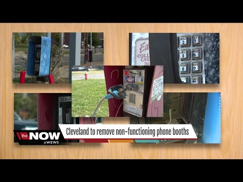 Good ol' fashion phone booths to be taken down in Cleveland