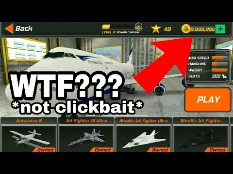 Flight pilot simulator hack! unlimited coins!