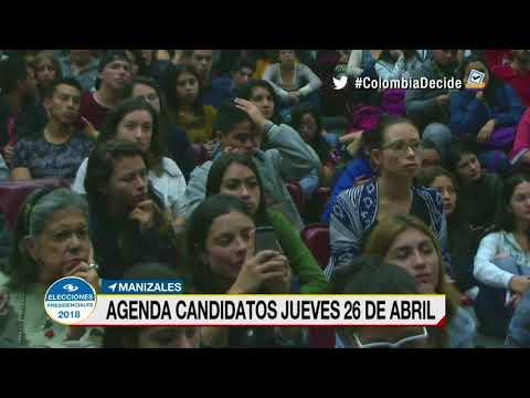 Candidatos presidenciales siguen recorriendo el país en busca de respaldos