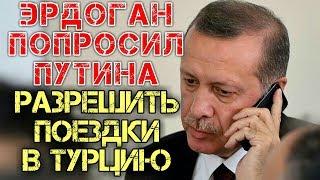 Турция 2020 Эрдоган попросил Путина разрешить россиянам поездки в Турцию Новости туризма