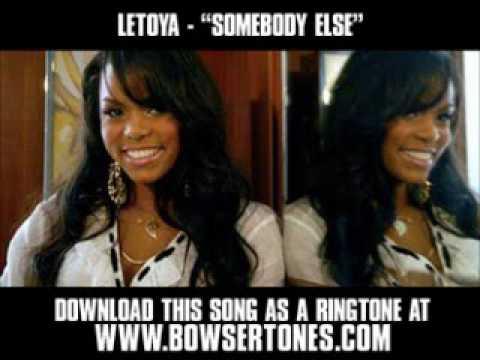 Letoya ft Avant  Somebody Else  New  + Lyrics + Download