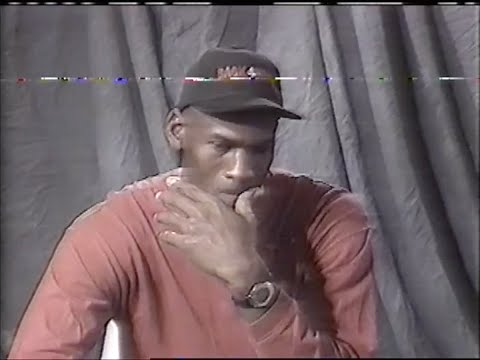 Michael Jordan Returns (Full 1995  interview)